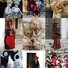 Venice Carnival People  by jojobob