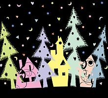 Christmas Town by VioDeSign
