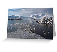 Blackmount-Rannoch moore Greeting Card