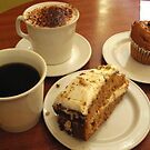 Coffee, Cake and Muffin by Alice McMahon