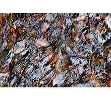 'Stream Abstract' Photographic Print