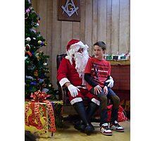 Alki Lodge Santa 2288 Photographic Print