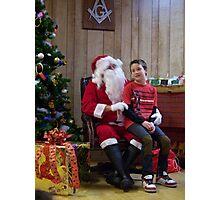 Alki Lodge Santa 2290 Photographic Print