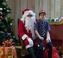 Alki Lodge Santa 2293 by Kristin Bennett