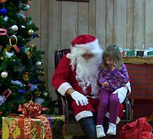 Alki Lodge Santa 2296 by Kristin Bennett