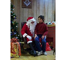 Alki Lodge Santa 2301 Photographic Print