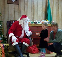 Alki Lodge Santa 2281 by Kristin Bennett