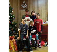 Alki Lodge Santa 2326 Photographic Print