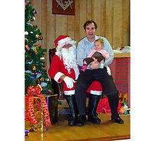 Alki Lodge Santa 2336 Photographic Print