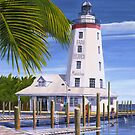 """ Faro Blanco ""  Marathon Key, Florida USA by Matthew Campbell"