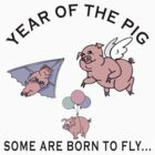 "Year of The Pig ""Some Are Born To Fly"" by ChineseZodiac"