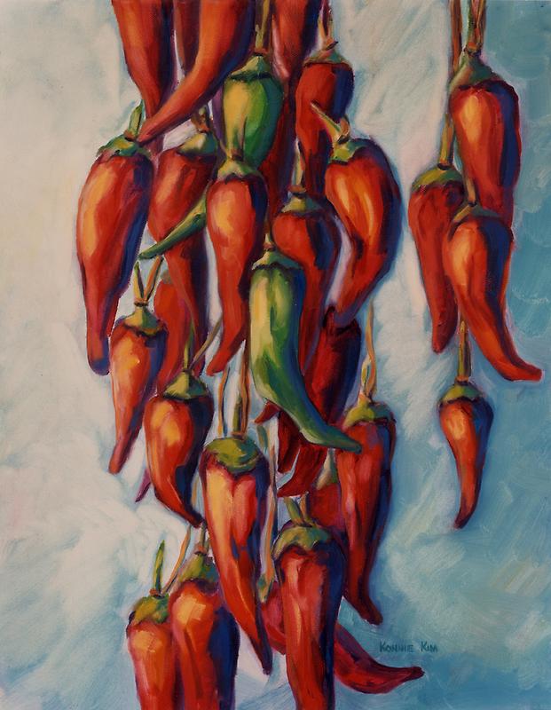 Peppers by Konnie Kim