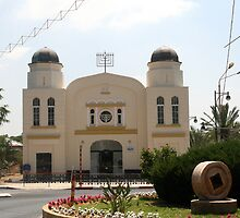 The Great Synagogue, Mazkeret Batya by Segalili