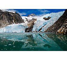 Northwestern Glacier Reflected Photographic Print