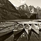 Canoes by Dennis  Roy Smigel