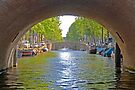 Amsterdam's canals and bridges by imagic