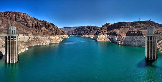 Hoover Dam --  Lake Mead by luc1ddr3am