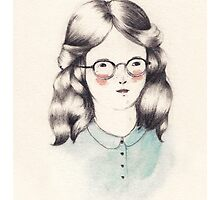Girls Who Wear Glasses by SarahMcNeils