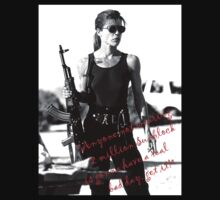 Sarah Connor! by watertigerleo