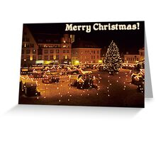 Merry Christmas from Estonia! Greeting Card