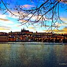 Prague Castle & Charles Bridge, Prague by David's Photoshop