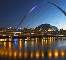 Millenium Bridge, Gateshead by MartinWilliams