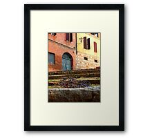Uva Secca Framed Print