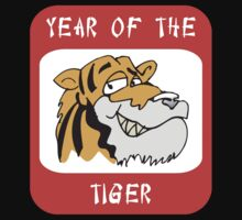 Year of The Tiger Funny by ChineseZodiac
