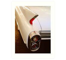 1960 Caddy Fins Art Print