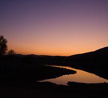 Sunset silhouttes by vasileva