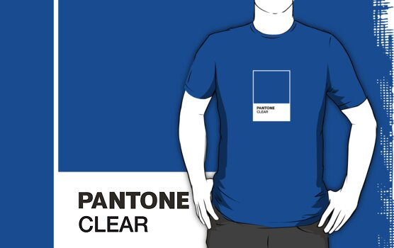 Pantone clear by Justin Minns
