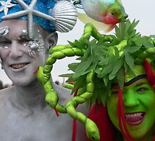 mermaids at Coney Island by andytechie