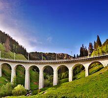 Alpine Railway Bridge by Mario Curcio