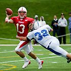 Under Pressure - Marist Football by rjhphoto