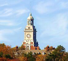 The Clock Tower at Meninger Foudation by Jim  Darnall