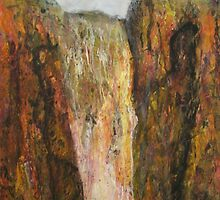 Gordale Scar 3 by Susan Duffey