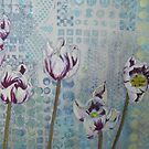 Driveside Tulips by Susan Duffey
