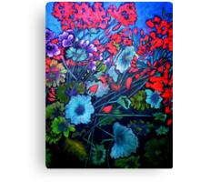 My Garden - Oil Painting Canvas Print