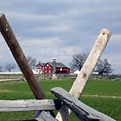The Farm at Gettysburg by Monnie Ryan