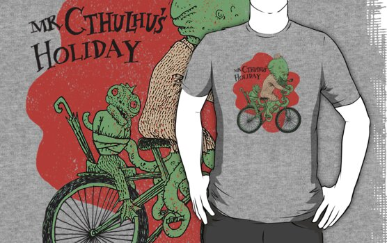 Mr. Cthulhu's Holiday by SusanSanford