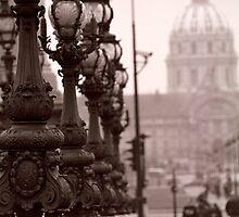 Pont Alexandre III, Paris  by Lidia D'Opera