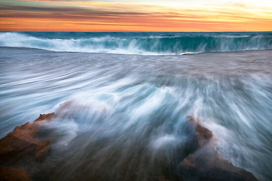 """Rapid Movement"",Point Roadknight,Anglesea,Great Ocean Road,Australia  by Darryl Fowler"