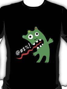 critter expletive - dark  T-Shirt