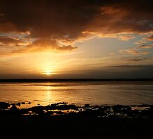 Tanilba Bay Sunset by Sharon Bree