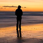 Sunset silhouette  by Swell Photography