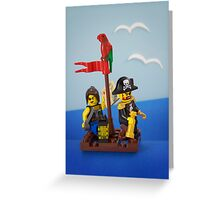 Sailing the seven seas Greeting Card