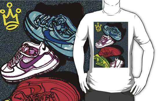 NIKE AIRS by SOL  SKETCHES™