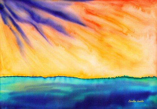 Fire in the Sky by Caroline  Lembke