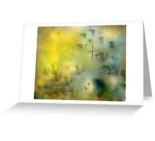HOPES OF PEACE .dedicated to men  and women at war!! Greeting Card