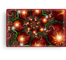 Under the holly Canvas Print